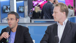 Gigaspaces and Metaswitch discuss the fully orchestrated VoLTE solution shown at the VMware booth, MWC 2016