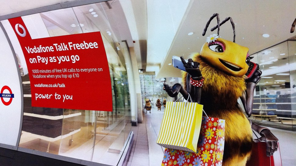 Vodafone advert