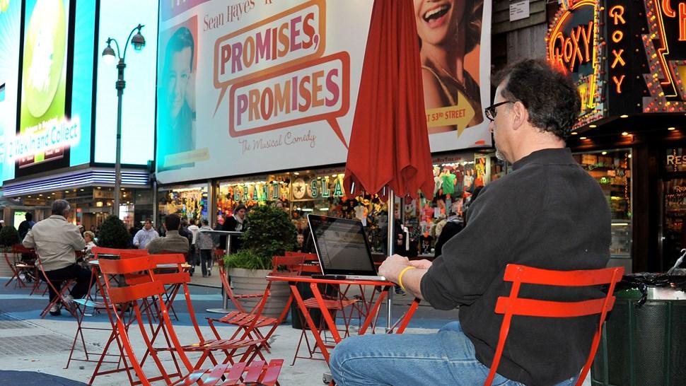 wi-fi Times Square