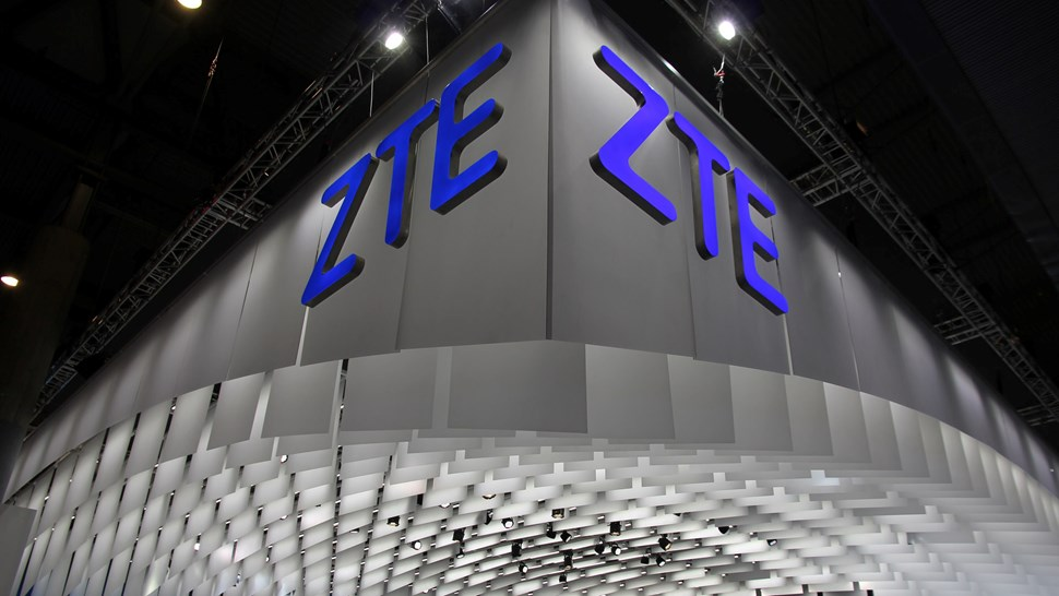 ZTE booth MWC